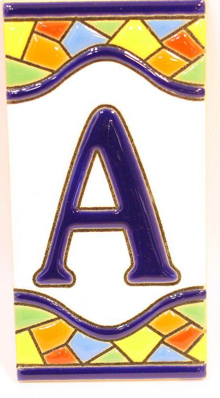 Mosaik Buchstaben