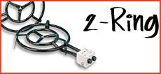 2-Ring Gasbrenner