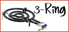 3-Ring Gasbrenner