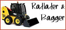 Joal Bagger und Radlader