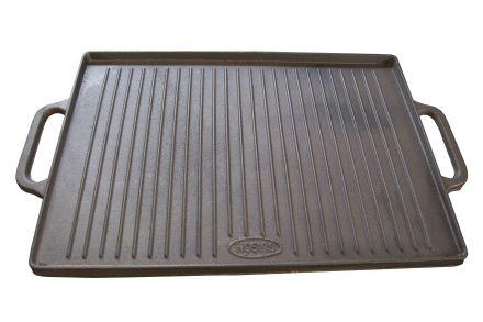 Plancha Grillplatte Gusseisen emailliert 35x50cm