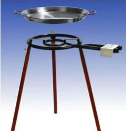Sehr Großes Paella Grill-set Für 30 Personen Outdoor Cooking & Eating Home & Garden