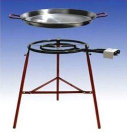 Paella Grill-Set Tarifa für 12-16 Personen