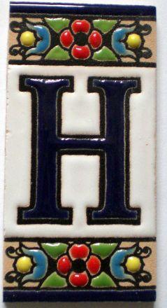 H - Fliese N° 1