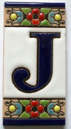 J - Fliese N° 1
