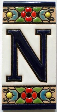 N - Fliese N° 1
