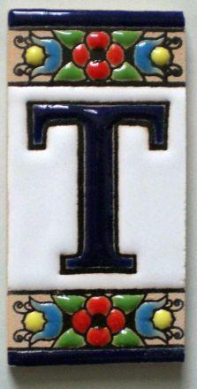 T - Fliese N° 1