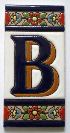 B - Fliese N° 3