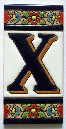 X - Fliese N° 3