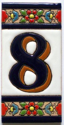8 - Fliese N° 3