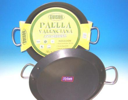 Paella Pfanne aus Edelstahl/antihaft 46cm