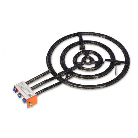 4 ring erdgas paella gasbrenner 70cm mit 31 65 kw. Black Bedroom Furniture Sets. Home Design Ideas
