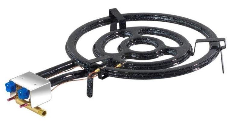 3 ring paella gasbrenner mit z ndsicherung 50cm. Black Bedroom Furniture Sets. Home Design Ideas