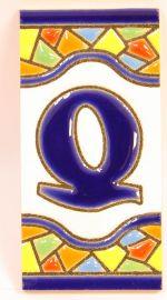 Q - Mosaik Fliese Gr. 1