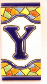 Y - Mosaik Fliese Gr. 1