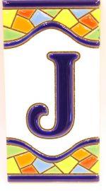 J - Mosaik Fliese Gr. 2