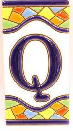 Q - Mosaik Fliese Gr. 2