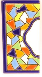 Endstück - Mosaik Fliese Gr. 2