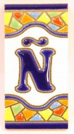 Ñ - Mosaik Fliese Gr. 1