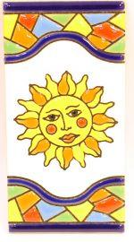 Sonne - Mosaik Fliese Gr. 2