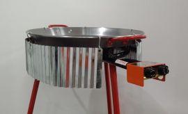 Windschutz wellig für Pfannen bis 90cm