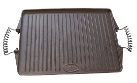 Plancha Grillplatte Gusseisen 21x27cm