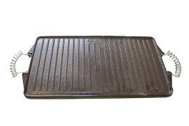 Plancha Grillplatte Gusseisen emailliert 24x43cm
