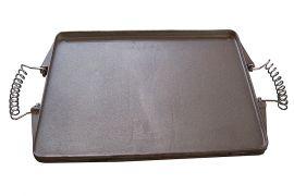 Plancha Grillplatte Gusseisen 24x43cm