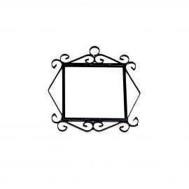 Rahmen für 2 Fliesen N°2 Handarbeit SPANIEN Hausnummer
