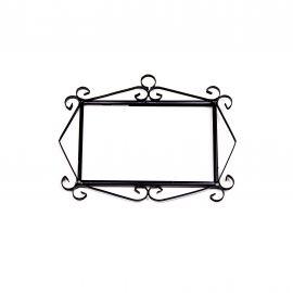 Rahmen für 3 Fliesen N°2 Handarbeit SPANIEN Hausnummer