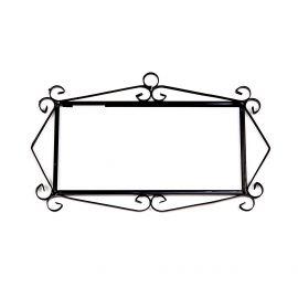 Rahmen für 4 Fliesen N°2 Handarbeit SPANIEN Hausnummer