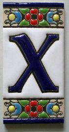 X - Fliese N° 1