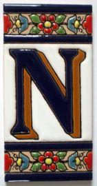 N - Fliese N° 2