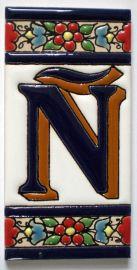 Ñ - Fliese N° 2