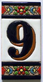 9 - Fliese N° 3