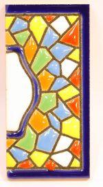 Endstück - Mosaik Fliese Gr. 1