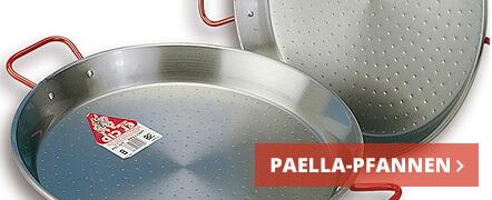 zu den Paella Pfannen